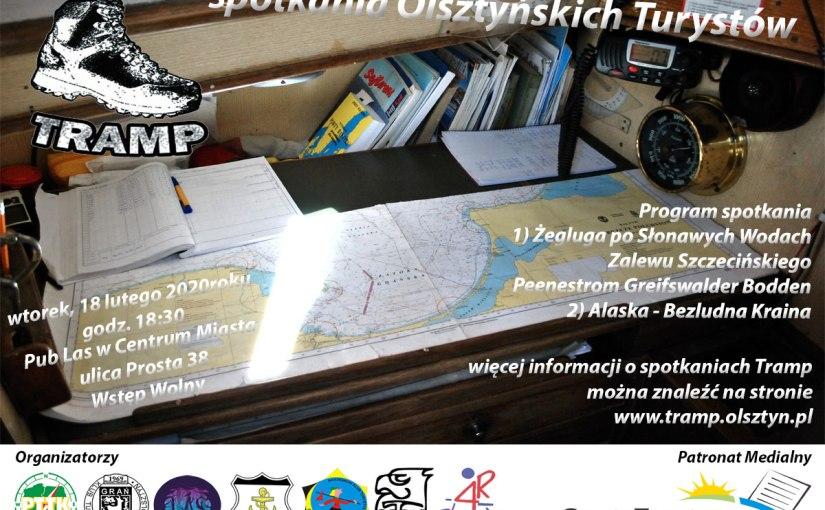 Spotkanie Olsztyńskich Turystów TRAMP – wtorek 18 lutego 2020r.