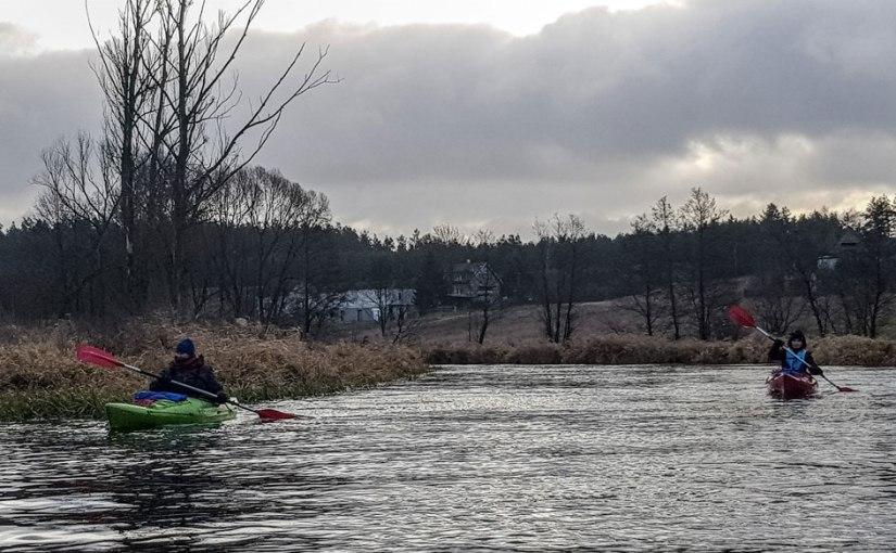 Fotorelacja ze spływu Noworocznego rzeką Drwęcą –[4.01.2020]